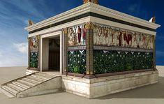 L'arte di età augustea (63-14 a.C.) venne definita con precise caratteristiche relative ad una certa perfezione tecnica e formale, con un occhio al realismo