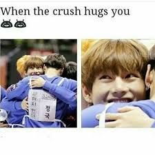 Wait, my crush dont ever know that i exist. You broke my heart