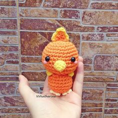 Remake and restock Torchic.  There's now ONE ready-to-ship  FREE SHIPPING at nvkatherine.etsy.com (link in bio) () ʕﻌʔ  I currently have a handful of ready to ship items all are listed in the ready-to-ship section in my #Etsy shop   #crochet #Torchic #amigurumi #pokemon #Nintendo #kawaii #chibi #handmade #crafts #fanart #plushies #plush #nvkatherine #yarnlove #yarnaddict #freeshipping #pokemonxy #Pokemonsun #pokemonmoon #etsyseller #etsyshop #manga #anime by nv.katherine