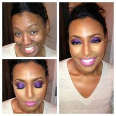 Transformational makeup - I don't know if i like the fact that we can change our faces THIS much. overkill, ithihnk.