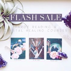 For the next ✨24 Hours✨ I am having a flash sale on my two most popular courses!! 💎🎴💎🎴💎🎴💎🎴💎🎴💎 💠 𝒯𝓇𝒶𝓃𝓈𝓅𝑒𝓇𝓈𝑜𝓃𝒶𝓁 𝒞𝓇𝓎𝓈𝓉𝒶𝓁 𝐻𝑒𝒶𝓁𝒾𝓃𝑔 Courses 🎴 𝒯𝓇𝒶𝓃𝓈𝓅𝑒𝓇𝓈𝑜𝓃𝒶𝓁 𝒯𝒶𝓇𝑜𝓉 𝑅𝑒𝒶𝒹𝒾𝓃𝑔 Courses 𝟓𝟎% 𝐎𝐅𝐅 Course enrollment (without Certification) 𝟐𝟓% 𝐎𝐅𝐅 Certification Course Enrollment (with Certification to work as a Crystal Healing Practitioner or a Certified Tarot Reader) #crystals #tarot #crystalcourse #learntarot #energyhealing Tarot Learning, Tarot Readers, Crystal Healing, Certificate, Popular, Education, Crystals, Reading, Popular Pins