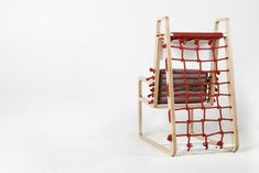 Abooba (Jaewook Kim, 2012):  a climbing chair that encourages the playful interaction between children and parents.
