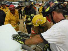 First Responder Jack durante un entrenamiento efectuado en Bomberos Los Cabos 2013. EMS México     Equipando a los Profesionales