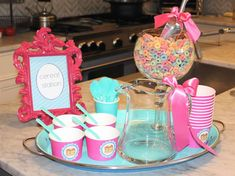 Pancakes and Pajamas Birthday Party Ideas | Photo 3 of 19 | Catch My Party