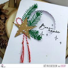 "Secretdelina : #Tampons et #matrices de coupe #dies #4enSCRAP ""Meilleurs #voeux 3"" #hiver #scrapbooking #DIY #loisirscréatifs #carte #carterie Scrapbooking Diy, Tampons Transparents, Invitation, Christmas Ornaments, Holiday Decor, Pixies, Happy New Year, Winter, Cutaway"