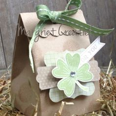 Good luck gift box Stampin´ Up!