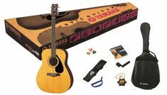 Yamaha F310P N Acoustic Guitar Pack.