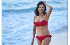 Ela, que é mãe de três filhos, exibe uma pele e corpo que impressionam quando descobrimos sua idade.