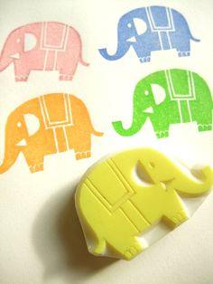 stempel - olifant - foam