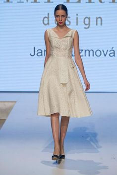 Jana Kuzmová for IMPERIA DESIGN White Dress, Design, Collection, Dresses, Fashion, White Dress Outfit, Fashion Styles, Dress, Fashion Illustrations