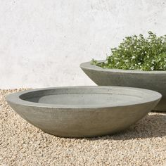 Adorn your garden, yard, or patio with rustic flair using the Campania International Medium Low Zen Cast Stone Planting Bowl . Outdoor Planters, Outdoor Art, Garden Planters, Cheap Planters, Tall Planters, Stone Bowl, Beton Diy, Fiberglass Planters, Diy Bird Feeder