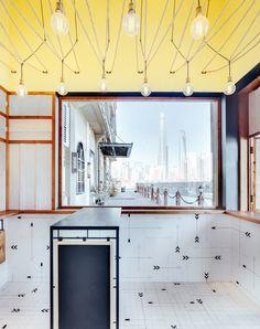 linehouse hot dog shop shanghai china designboom 02