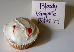 Twilight Party Food Ideas- Bloody Vampire Bites
