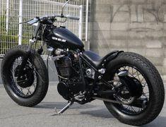 Cafe Racer Pasión — Yamaha SR400 Bobber by Custom Bike Light  ...