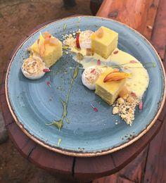 Lemon Genoise dessert dish from our Locations Wine Dinner 2017