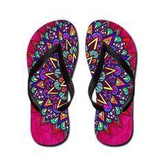 Oasis Flip Flops by Erin Jordan