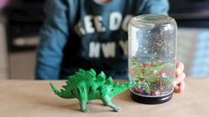 DIY Snow Globe: Video - http://www.pbs.org/parents/crafts-for-kids/diy-snow-globe/