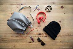 Edgy Style Bucket Bag | Keatonrow.com