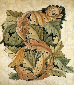 William Morris acanthus leaves