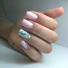 Top 60+ Fashionable nail art designs spring 2018