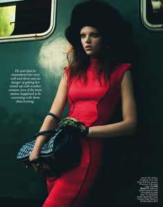 Transport Yourself   Jenna Earle   Andrew Soule #photography   Flare November 2012