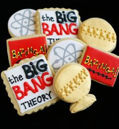 Big Bang Theory Cookies, They're gorgeous!