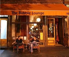 bubble lounge tribeca! LOVE THIS SPOT...