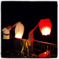 Eco Colored Wish Lantern (5 Pack) available from Wish Lantern