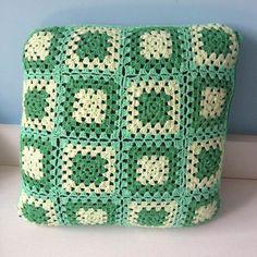 Capa de almofada em Crochê