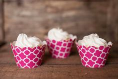 12 Cupcake Wrappers - Pink Spanish Tile Cupcake Wrappers - Patterned Wrappers - Great for Birthday Parties, Baby Showers & Bridal Showers by getthepartystarted on Etsy https://www.etsy.com/listing/167912716/12-cupcake-wrappers-pink-spanish-tile