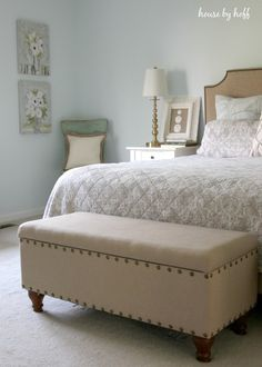 Decorating the Master Bedroom: Mixing the Old and New - House by Hoff