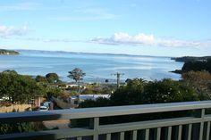 Stunning views over beach, bay and beyond in Surfdale, Waiheke Island | Bookabach