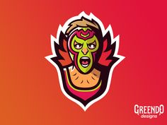 Mexican Wrestler Mascot Logo designed by Daniel Tsankov. Connect with them on Dribbble; the global community for designers and creative professionals. Mexican Wrestler, Digital Art, Logo Design, Candy, Fictional Characters, Free, Sweets, Fantasy Characters, Candy Bars