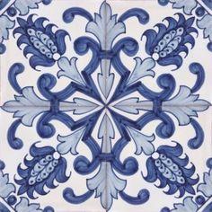 Portuguese hand painted fine ceramic tiles azulejos BAROQUE DESIGNS