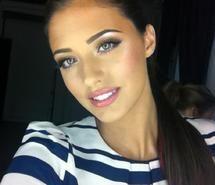 Nice makeup for brunetts...