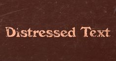 There are a lot of ways to create distressed text in Photoshop; some techniques are better than others but I have found that the best technique is to use a nice… Photoshop Tips, Photoshop Brushes, Photoshop Elements, Photoshop Tutorial, Lightroom, Business Fonts, Graphic Design Fonts, Photoshop Photography, Photography Tips