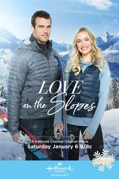 "Its a Wonderful Movie - Your Guide to Family and Christmas Movies on TV: Love on the Slopes - a Hallmark Channel Original ""Winterfest"" Movie starring Katrina Bowden & Thomas Beaudoin!"