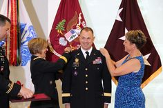 Congrats to BG Brian Lein on his promotion September 13 to MG. Serving to Heal...Honored to Serve!