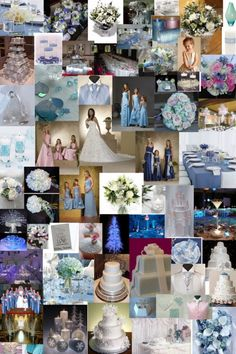 Light Blue, Silver and White Color Themes http://www.weddingcolorthemes.com/blue-wedding-themes/