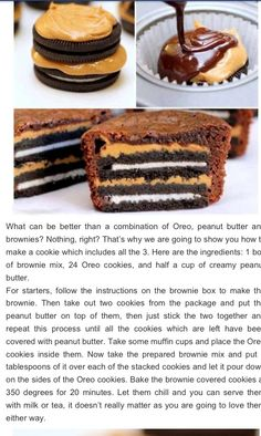 Oreo brownies kristen!....with peanut butter kristen!...its too much kristen please...