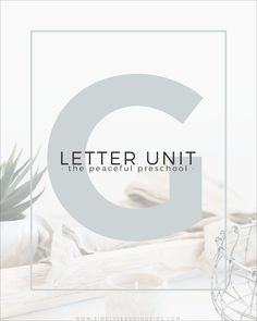 Letter G Unit with Simply Learning & The Peaceful Preschool ~ free supplemental PDF printables (and activities) to go along with the curriculum! Preschool Letters, Free Preschool, Preschool Curriculum, Learning Letters, Homeschooling, Preschool Crafts, Educational Activities For Kids, Letter Activities, Summer School Activities