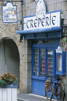 Brittany, France - Creperie
