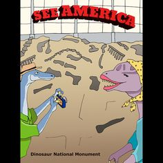 Dinosaur National Monument by Daisy Patton  #SeeAmerica