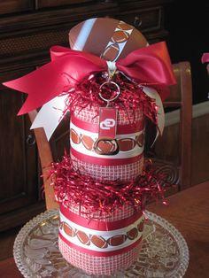 Oklahoma Sooner Party Cake