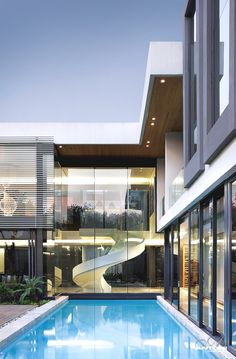 ‎6th 1448 Houghton Residence by SAOTA and Antoni Associates  Houghton, Johannesburg, South Africa.