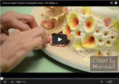 a great video on how to make coral with fondant.
