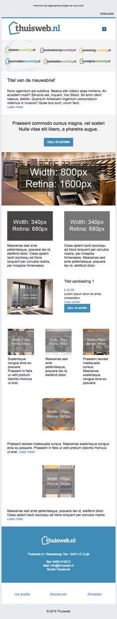 Template design thuisweb.nl