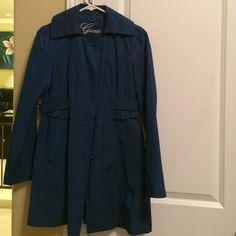 Guess coat Coat guess dark blue Guess Jackets & Coats