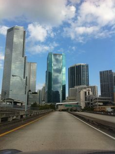 A view of #Brickell from #metromover