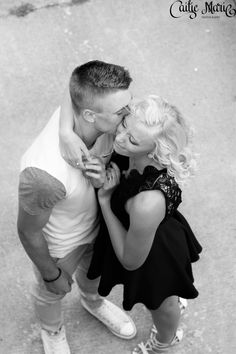 Caitie Marie Photography  Like her page on Facebook Engagement Couple, Wedding Engagement, Summer Couples, Black White Art, Couple Photography, Photoshoot, Poses, Facebook, Couple Photos
